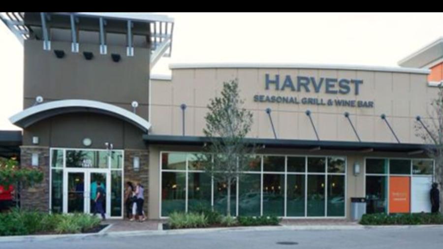 harvest outside