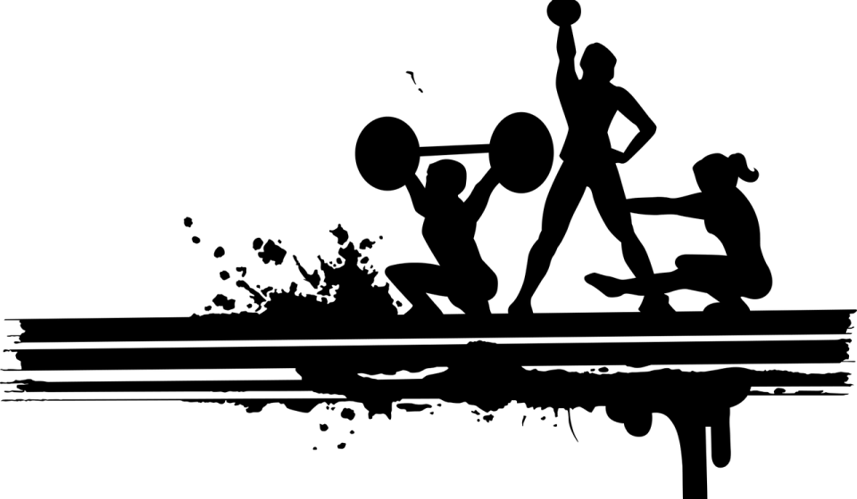 powerlifter silhouette